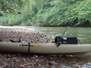 Kayak on the Caddo